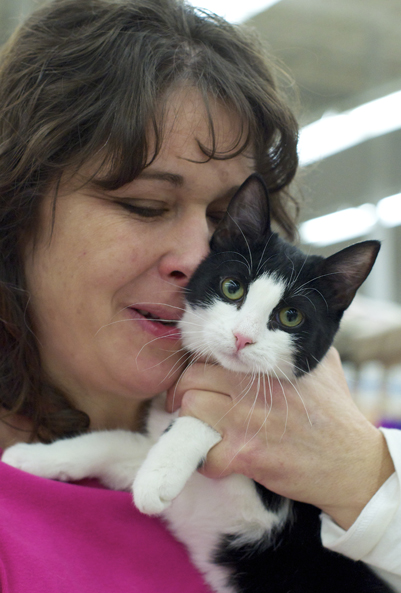Leah, one of our many dedicated volunteers, gives her love through fostering.